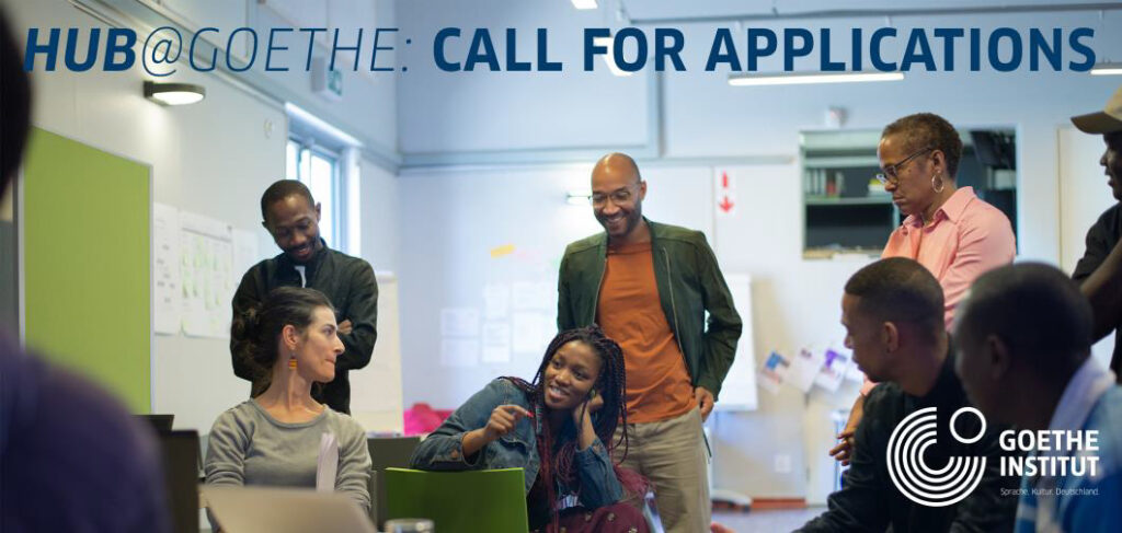 CALL FOR APPLICATIONS from the HUB@GOETHE