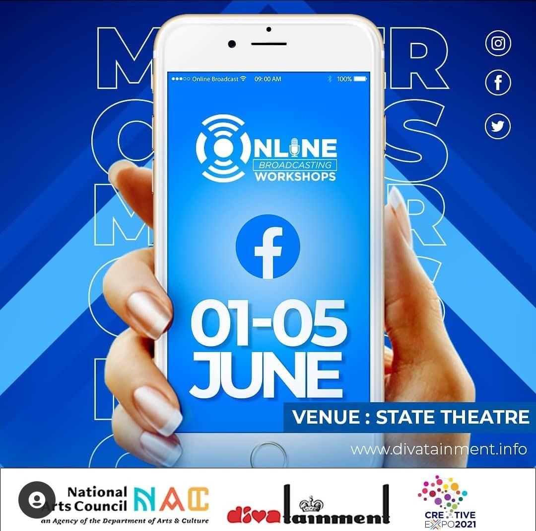 Online broadcast webinar2