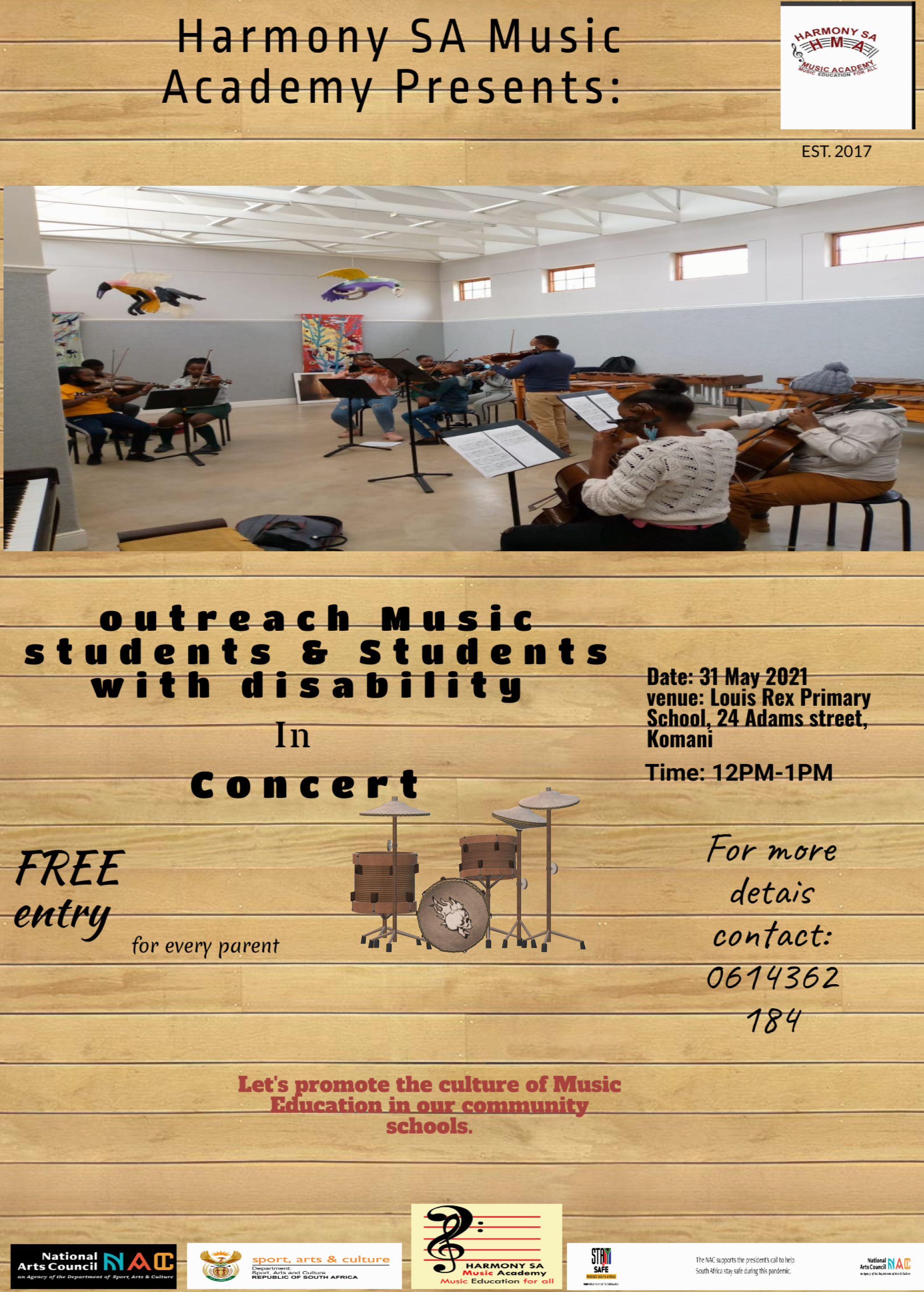 Outreach Music Students & Student with Disability – In Concert