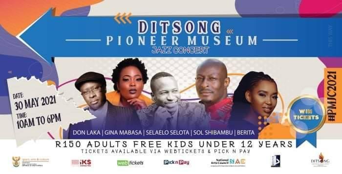 Ditsong Pioneer Museum Jazz Concert