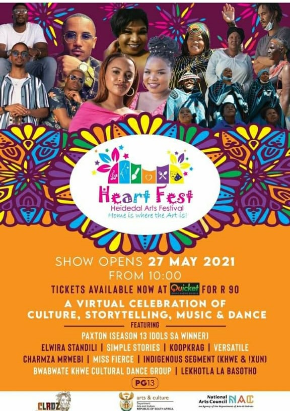Heart Fest – Heidedal Arts Festival