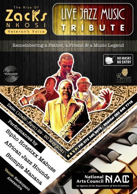 Live Jazz Music Tribute