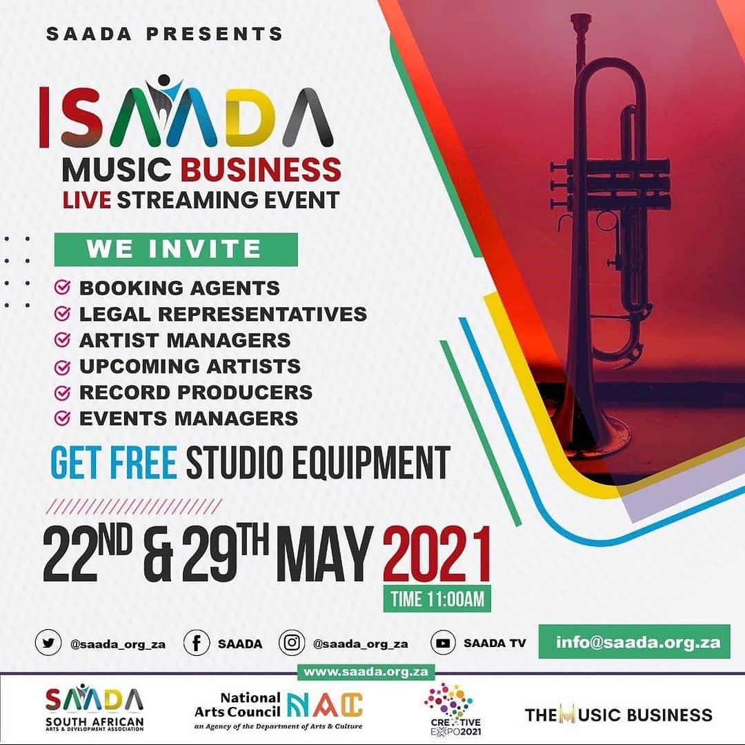 SAADA Music Business Live Streaming Event
