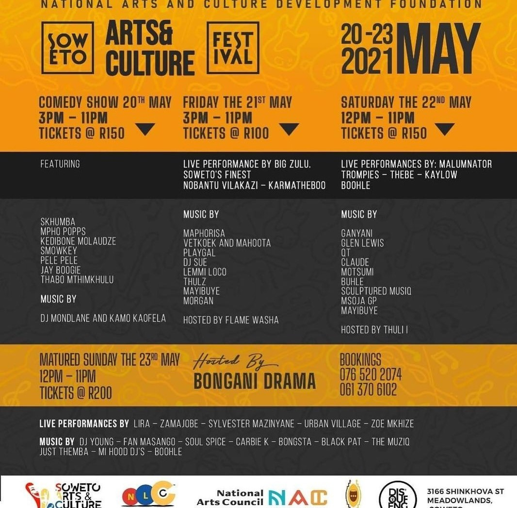 Soweto Arts & Culture Festival