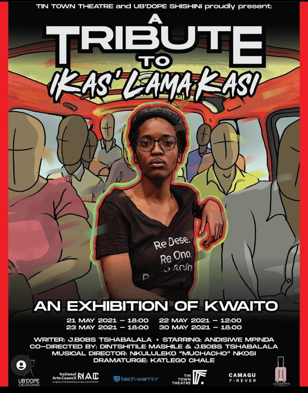 Tribute to iKas' Lama Kasi – An exhibition of Kwaito