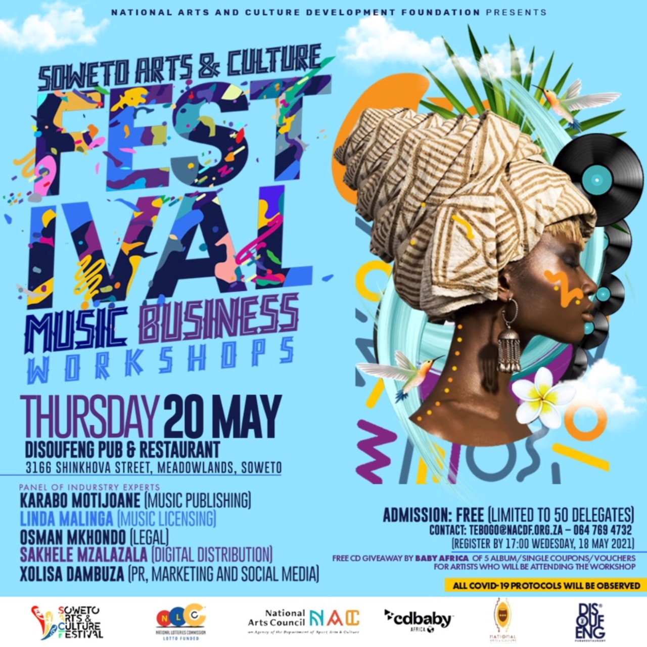 Soweto Arts and Culture Festival Music Business Workshops