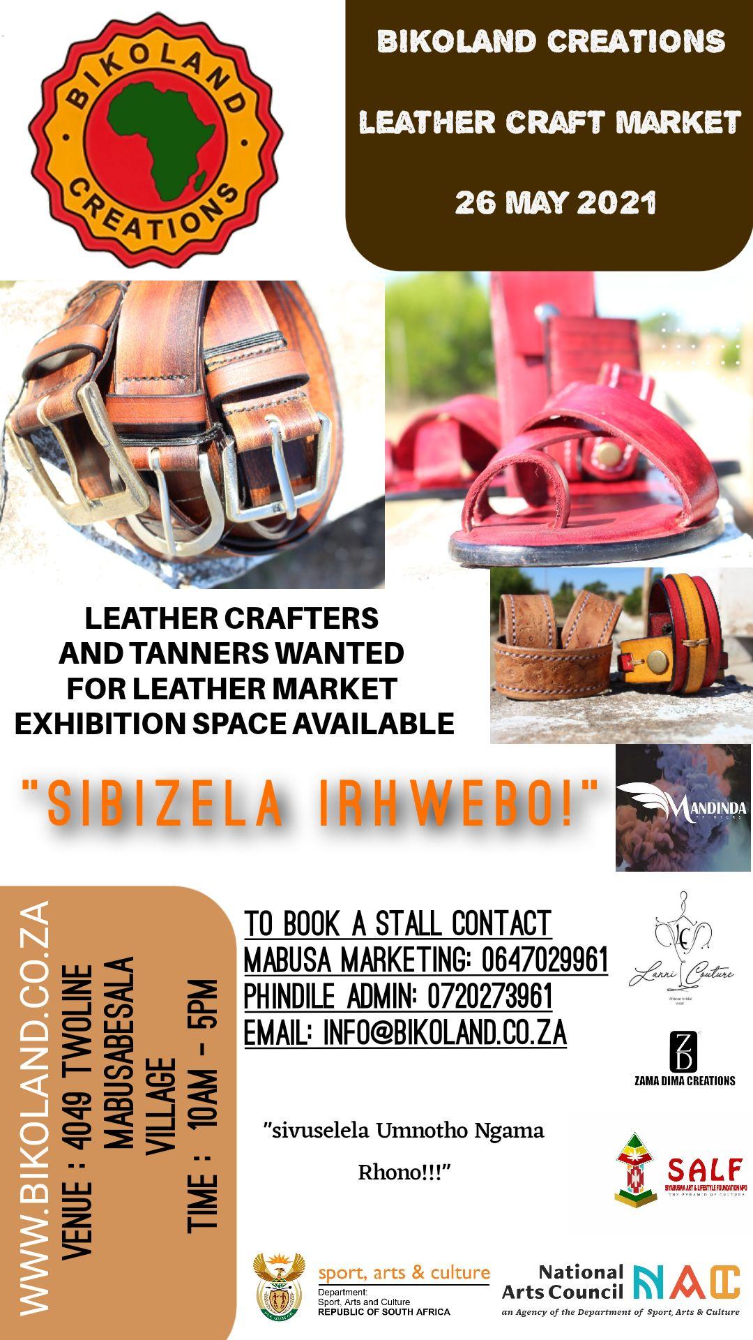 Bikoland Creations Leather Craft Market