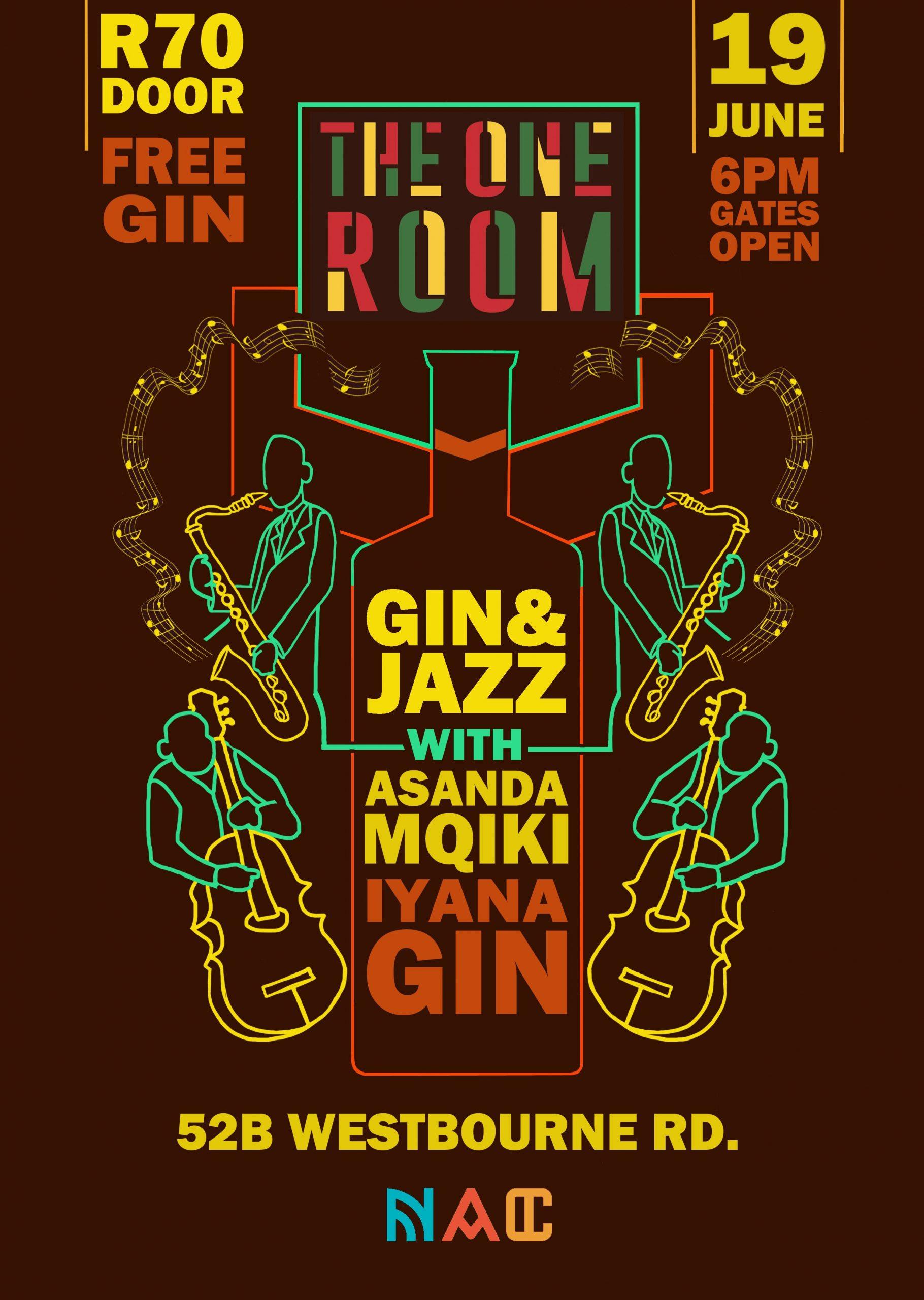 Gin & Jazz with Asanda Mqiki