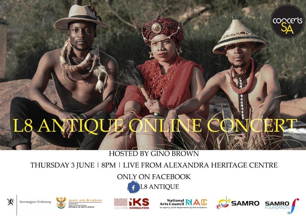 L8 Antique Online Concert
