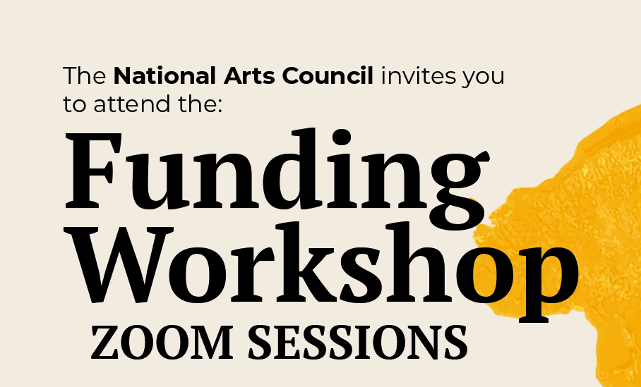 NAC Call for funding Funding workshops National Arts Council of South Africa 2021 2022 Provincial